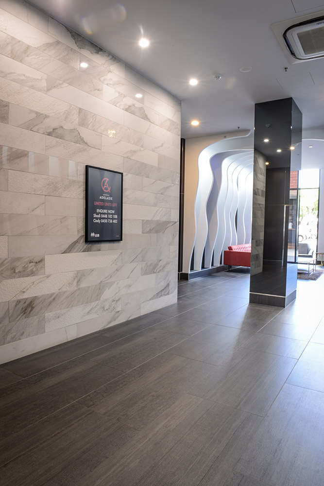 Central Adelaide Apartments » Commercial Ceramics and Stone